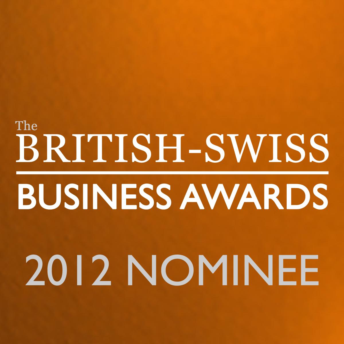 Nominee: The British-Swiss Business Awards
