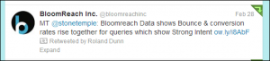 BloomReach and shoppers intentions