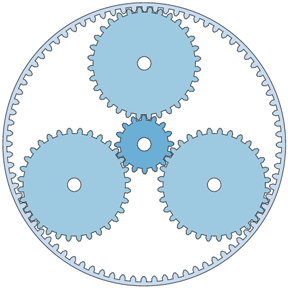 D3 Epicyclic Gearing