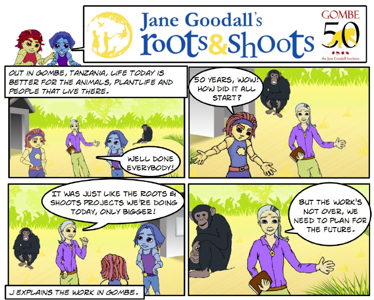Jane Goodall's Roots & Shoots UK
