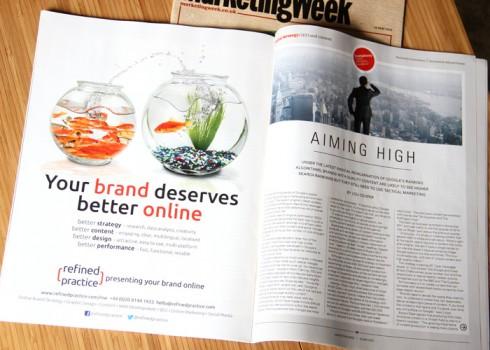 marketing week advert