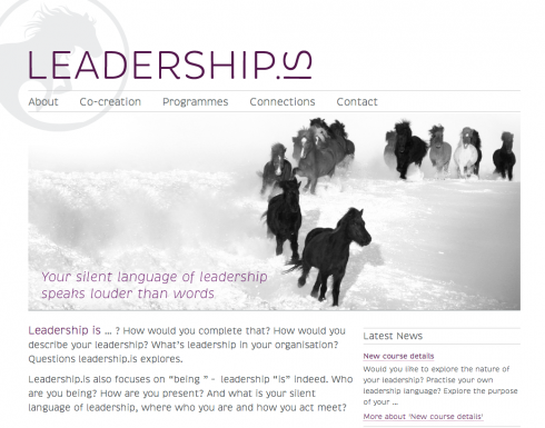 Leadership.is website